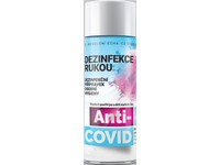 Anti-COVID 1000 ml, roztok, víčko bez rozprašovače
